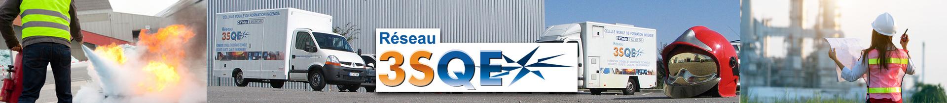 Réseau 3SQE :  La force d'un réseau. L'expertise d'un indépendant